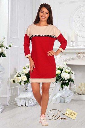 Платье «Лира» красное