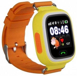 Умные часы детские Q90 желтые