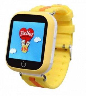 Умные часы детские Q750 желтые