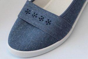 Туфли* размер 36 - 23 см. Размер 37 - 23,5 см. Размер 38 - 24 см размер 39 - 25 см.  Материал верха:  Текстиль