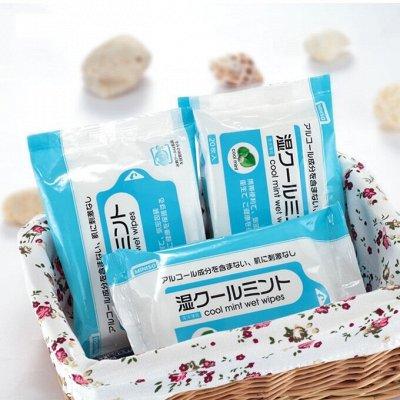 🍀Товары из Японии и Кореи.Уникальное предложение! Акции!🍀 — Салфетки влажные — Ватно-бумажные изделия