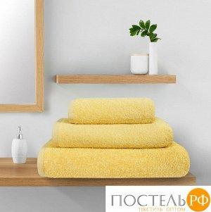 Полотенце махровое Guten Morgen, цвет: Желтый 70х140 см 1 сорт
