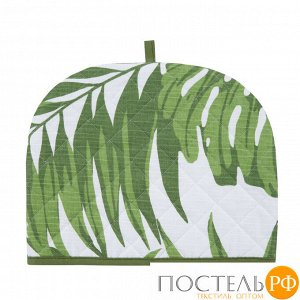 ЧЧ-Лс-30-25 Чехол на чайник «Листья» рогожка 30х25