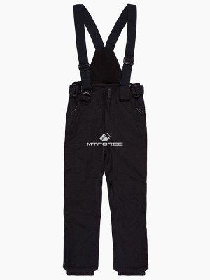 Подростковые для девочки зимние горнолыжные брюки черного цвета 816Ch