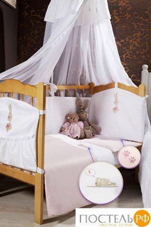 """115124231-4826в Комплект постельного белья """"Lovely"""" розовый (Подарочная Коробка)"""