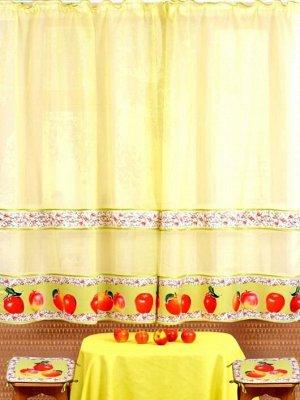 Комплект штор Алетто Яблоки