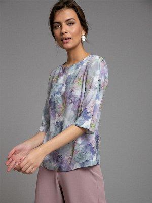 Блузка с принтом B2533/wonder