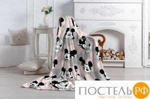 Плед Павлинка Аэро Софт Дисней Микки Маус (розовый), р. 150*200