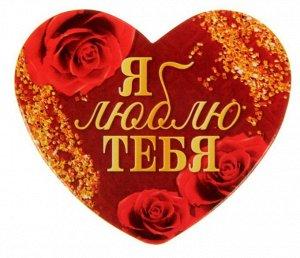 Открытка‒валентинка «Я люблю тебя», 7 × 6 см