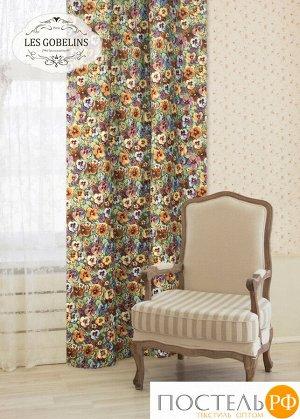Классические шторы Fleurs De Jardin (Люверсы). Производитель: Les Gobelins
