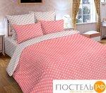 """Одеяло летнее """"Горох Розовый"""" 2 сп"""