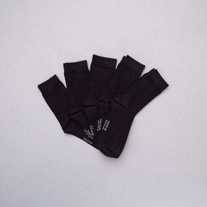 Комплект из 5 пар носков - черный