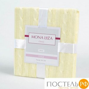 520403/12 Плед 'Monet' 140*180 Mona Liza Classic ваниль