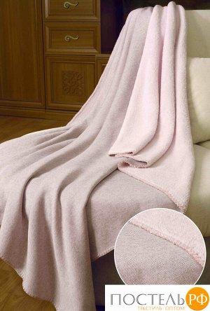 153719139-26 Плед Melange 130x160 розовый