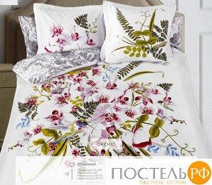 5658/5 КПБ 2сп (Orchid) н(2)70*70 н(2)50х70 SL сатин панно (Книжка ПВХ)