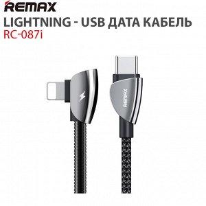 LightningUSB дата кабель Remax RC-087i