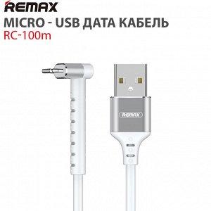 Micro USB дата кабель Remax RC-100m