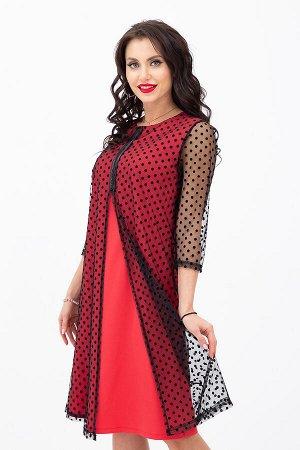 Платье Выход в свет (ягода) П1180-12