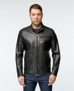 . Черный; Светло-коричневый; Коричневый;    Куртка 17870 Стильная, удобная куртка, изготовлена с использованием высокотехнологичного материала - Эко-кожи. Четыре нижних боковых кармана (два из котор