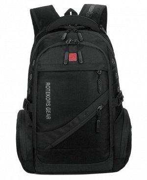 . Черный; Серый; Красный; Хаки; Голубой;    Удобный, легкий городской рюкзак, выполнен из прочного, водоотталкивающего материала и качественной фурнитуры. Мягкая анатомическая вставка для спины о