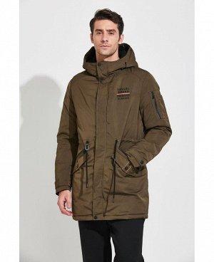 . Хаки;    Куртка ICR 946  Стильная, комфортная куртка - парка, изготовлена с использованием высокотехнологичных материалов Био-Пух®, Sorona®, разработанных американской компанией DuPont®.  Двухс