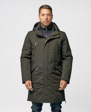 . Черно-зеленый;    SNS 37  Стильная, комфортная куртка, изготовлена из качественной ветрозащитной ткани с водоотталкивающим покрытием. Двухсторонняя основная молния (возможность расстегнуть куртку