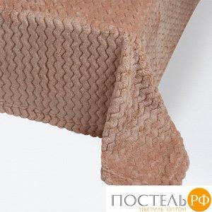 Плед 180х200 Modern кофейный