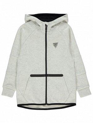 кофта Grey Marl Logo Hoodie