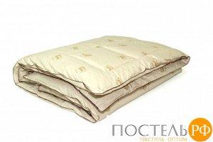 Одеяло Верблюжья шерсть ЛЮКС 140x205