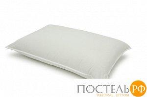ШАЛЕ Подушка пуховая 50х70, 1000 гр.,1пр.,хл-плстр/пух серый