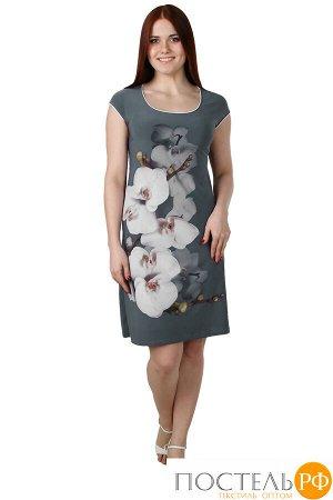 Платье Alvar Цвет: Серый. Производитель: Оптима Трикотаж
