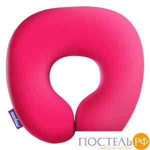 Подушка под шею «Релакс» (H2929C1705A002PN, 29х29, Розовый, Кристалл, Микрогранулы полистирола)