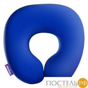 Подушка под шею «Релакс» (H2929C1705A003BU, 29х29, Голубой, Кристалл, Микрогранулы полистирола)