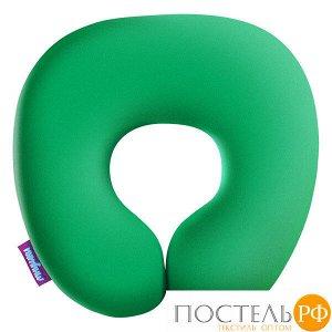 Подушка под шею «Релакс» (H2929C1705A005GR, 29х29, Зеленый, Кристалл, Микрогранулы полистирола)