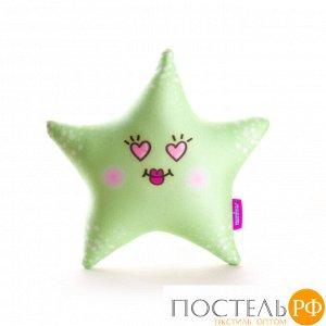 Игрушка «Я Звезда»  (T2625C0818S011GR, 26х25, Зеленый, Стрейч бархат, Микрогранулы полистирола)