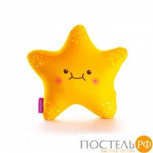Игрушка «Я Звезда»  (T2625C0818S010OR, 26х25, Оранжевый, Стрейч бархат, Микрогранулы полистирола)