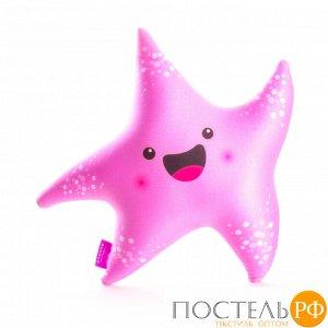 Игрушка «Я Звезда»  (T2625C0818S008PN, 26х25, Розовый, Стрейч бархат, Микрогранулы полистирола)