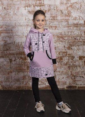 Арт. 3107 Платье туника для девочек