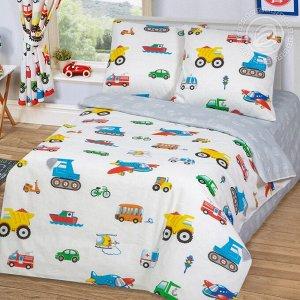 Комплект постельного белья Моторчик