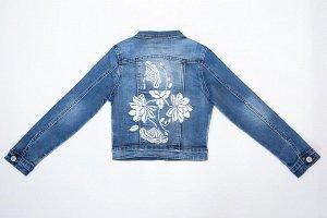 Куртка 134177-8 голубой