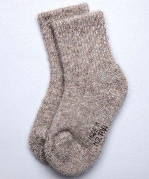 Детские носки из натуральной шерсти