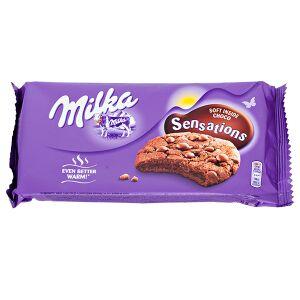 Печенье печенье Милка Sensations soft inside choco 156 гр