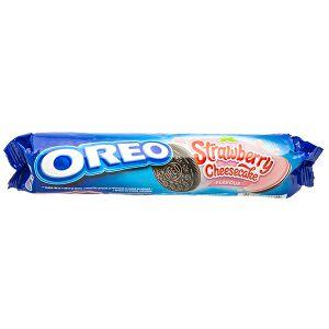 Печенье печенье Орео Strawberry Cheesecake 154 гр