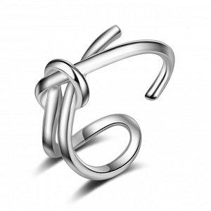 "Безразмерное кольцо ""Узел"", Crystal Shik"
