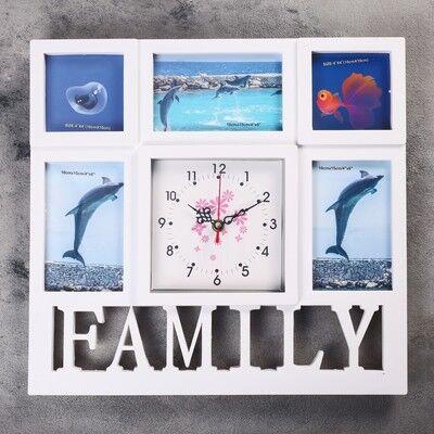 Интерьерный Декор Новинки!  — Настенные  Интерьерные часы с фоторамками — Рамки и фотоальбомы