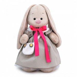 Зайка Ми в платье и с сумкой-сова (малый) мягкая игрушка