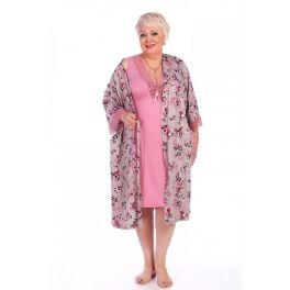 ✔ Шикарная домашняя одежда Новинки До 72 размера — Пеньюары ( цена указана за комплект ) — Одежда для дома