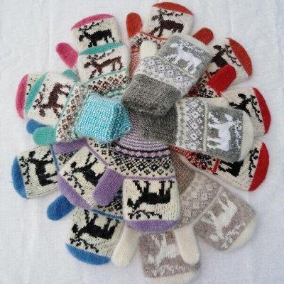 Милашка 💖 Зимние шапочки от 100 р 💝 Долгожданные 💖 — Аксессуары >> Варежки, перчатки, теплые носочки — Перчатки и варежки
