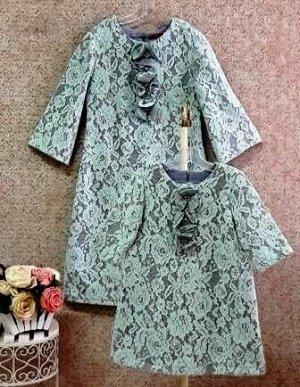 Платье на подкладе Кружево 633-ПКСМт