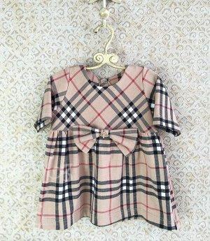 Платье Кокетка Бант 530-ПБРд